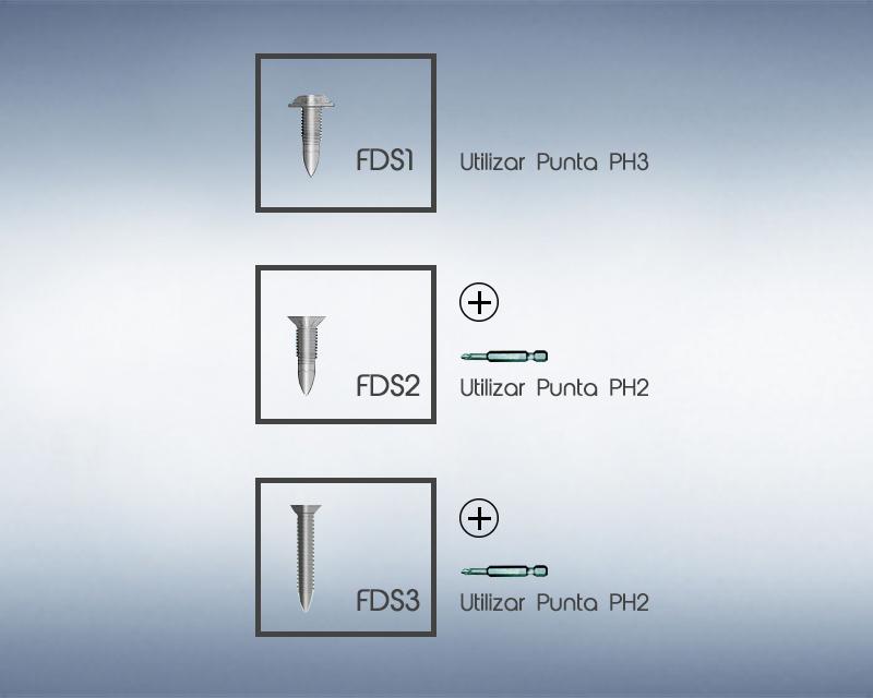 Tornillos especiales para Aluminio